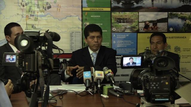 El abogado Pablo Fajardo en una foto de archivo