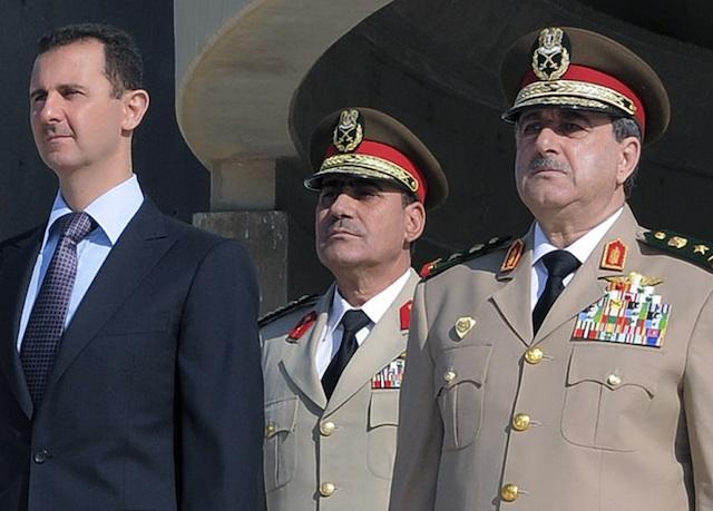 Bashar Assad, Dawoud Rajha
