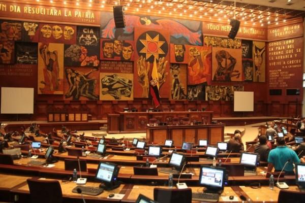 SUSPENDIDA VOTACION DE LA LEY DE COMUNICACION