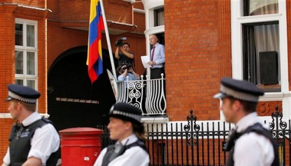 Embajada de Ecuador en Londres. Foto de Archivo, La República.