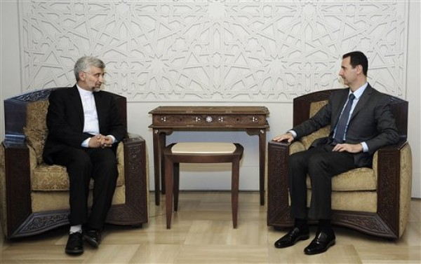 Saeed Jalili, Bashar Assad