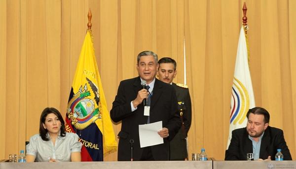 Reunion del Consejo Consultivo de Organizaciones Politicas del CNE