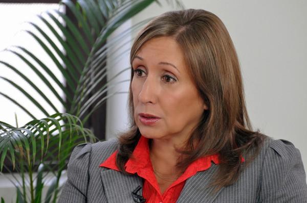 Doris Soliz, Secretaria Ejecutiva de Alianza País. Foto de Archivo, La República.