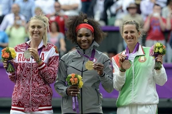 medallas mujeres tenis