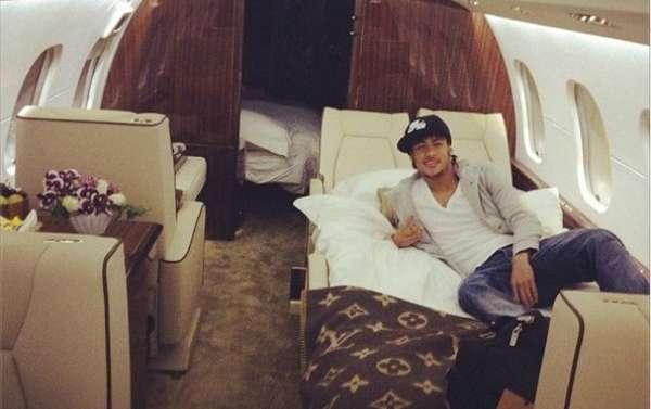 neymar avion