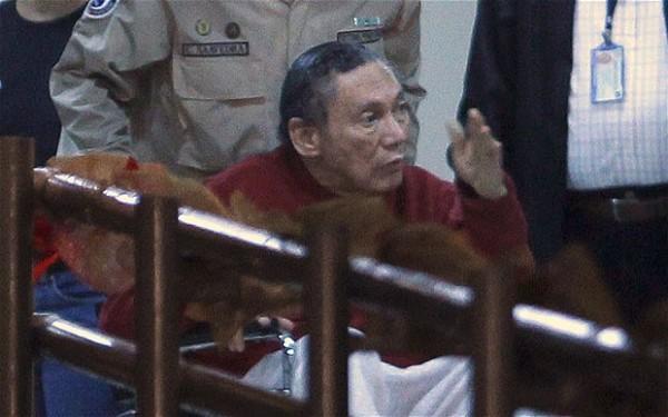 Manuel Antonio Noriega, ex dictador de Panamá. Foto de Archivo, La República.