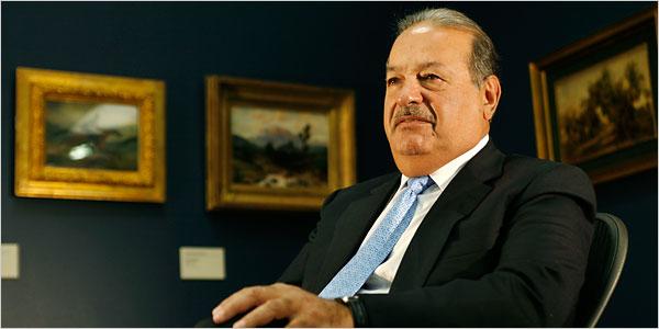 Carlos Slim, empresario mexicano. Foto de Archivo.