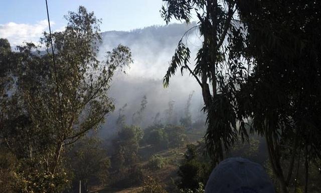 Incendio Quito