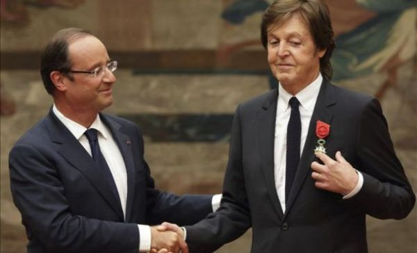 Paul McCartney legion de honor