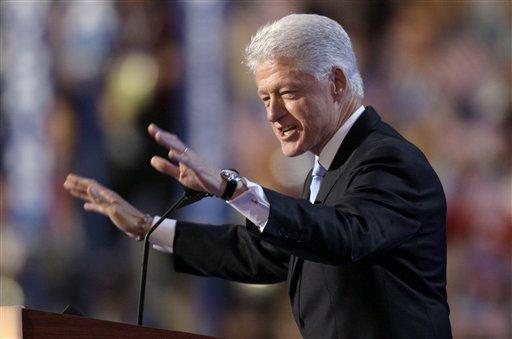 El expresidente de EEUU Bill Clinton. AP