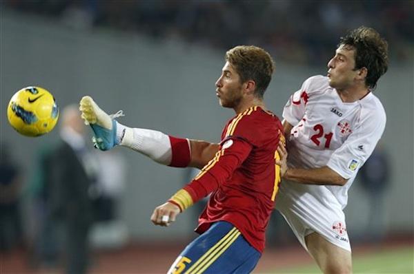 Sergio Ramos, Nika Dzalamidze