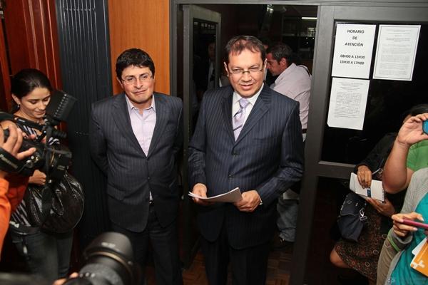 REPRESENTANTES DE FUNDAMEDIOS ACUDEN A LA PALACIO DE JUSTICIA