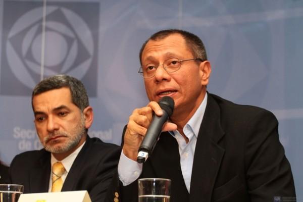 RUEDA DE PRENSA DEL MINISTRO JORGE GLASS