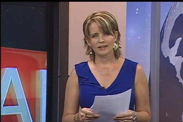 Janeth Hinostroza, periodista. Foto de Archivo.