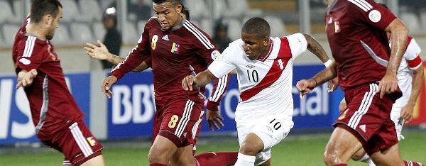 Peru Venezuela Wcup Soccer