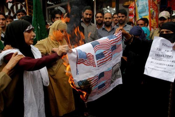 protestas Mahoma