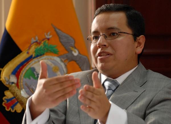 MINISTRO DE FINANZAS, PATRICIO RIVERA