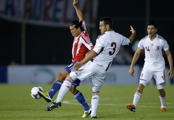 Paraguay Venezuela WCup Soccer