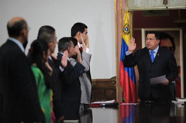 Chávez ministros