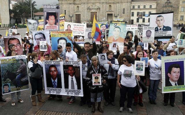 colombia-paz secuestrados