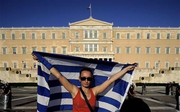 Grecia huelgas