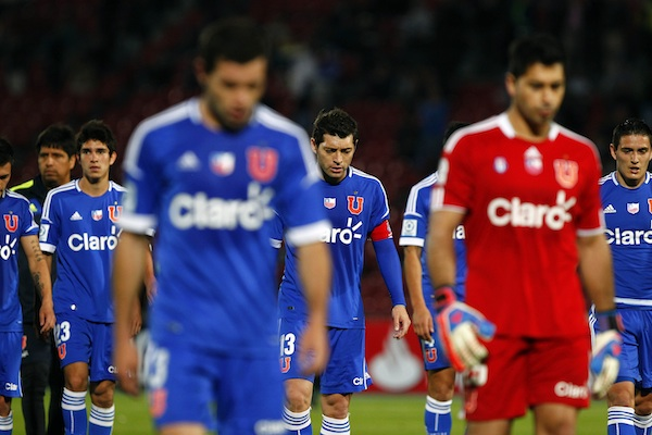 Universidad de Chile vs Emelec.