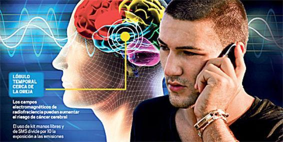 Image result for el uso del celular y el tumor