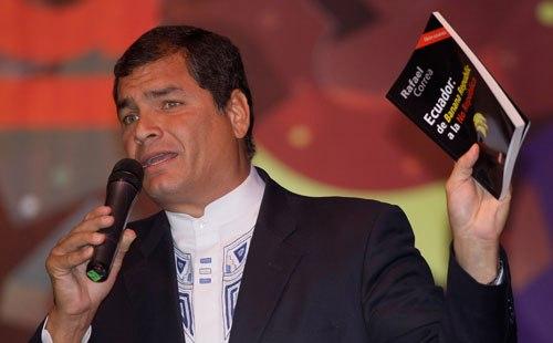 Peru Ecuador Correa