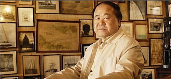 Mo yan, escritor chino y Premio Nobel de Literatura. Foto de Archivo, La República.