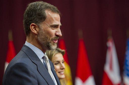 Rey Felipe de España, junto a la reina Leticia. Foto de Archivo, La República.