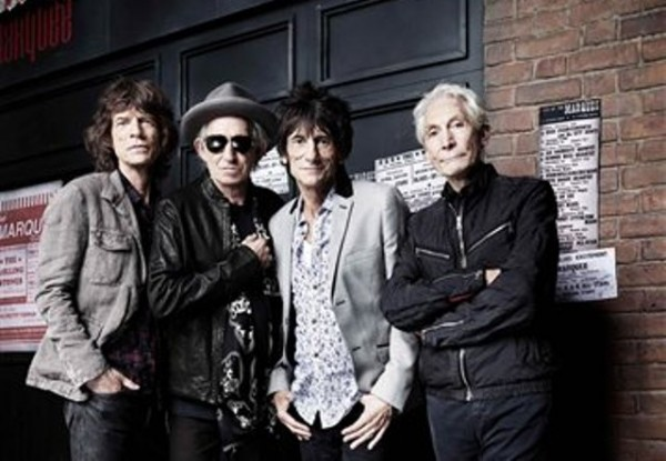 Esta imagen proporcionada por Rankin, y fechada el 11 de julio de 2012, muestra a la banda de rock los Rolling Stones. De izquierda a derecha: Mick Jagger, Keith Richards, Ronnie Wood y Charlie Watts. El jueves 12 de julio de 2012 se cumplen 50 años desde la primera actuación de los Stones en el club londinense Marquee. (AP foto / Rankin) NO SALES