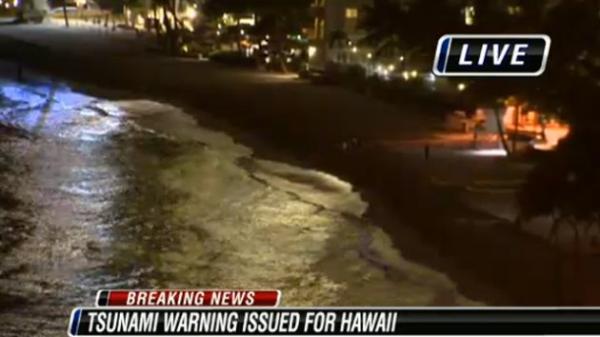 tsunami hawaii