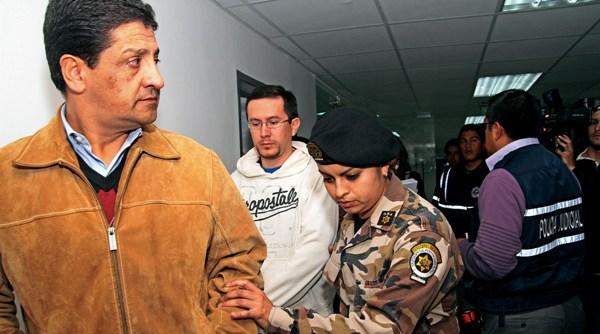 Omar Unda y Roberto Sandoval los primeros detenido en el caso COFIEC