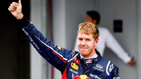vettel pole position