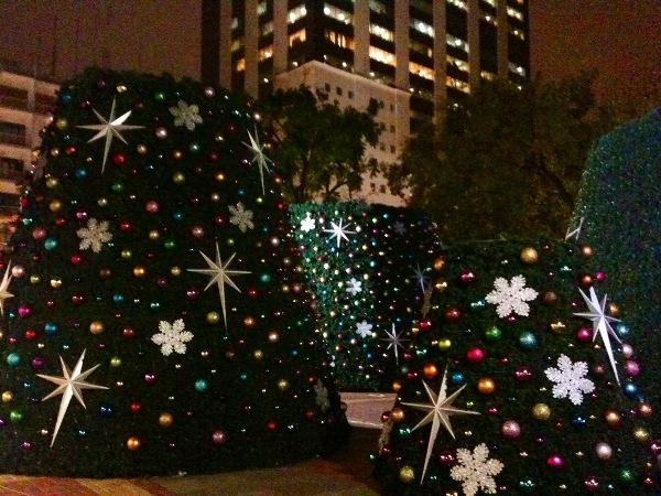 árbol de Navidad Malecón