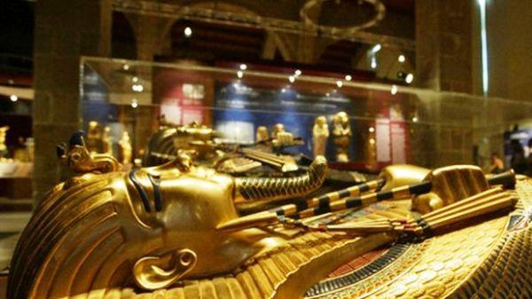 Tumba de Tutankamón. Foto de Archivo, La República.
