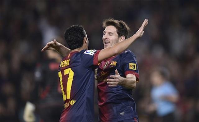 Lionel Messi, Pedro Rodriguez