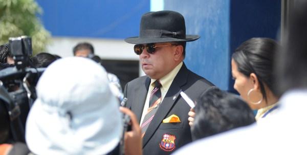 Guayaquil, 29 de Noviembre del 2012. En la Policia Judicial Hector Vanegas señalo que se iniciara un proceso judicial en contra de los 24 detenidos por los destrosos ocurridos en el estadio de Barcelona la noche del 28 de Noviembre durante las celebraciones por el campeonato obtenido. APIFOTO/CESAR PASACA