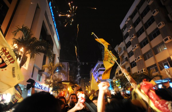 Guayaquil, Avenida 9 de Octubre. API