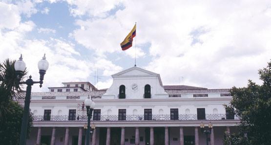 Palacio de Carondelet, sede del gobierno del Ecuador. Foto de Archivo, La República.