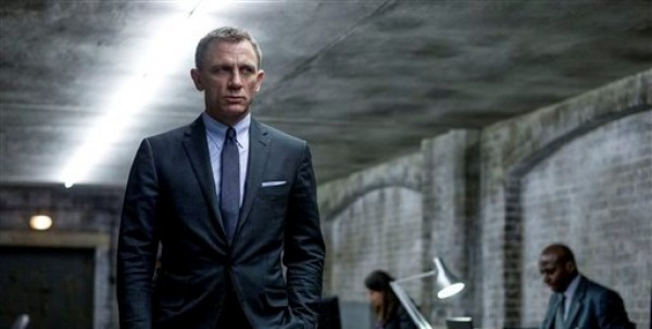 Daniel Craig en una escena de la película de James Bond «Skyfall» en una fotografía proporcionada por Sony Pictures. (Foto AP/Sony Pictures, Francois Duhamel, archivo)