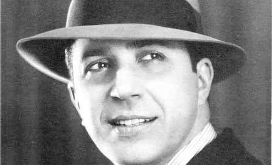 Carlos Gardel, cantante del tango. Foto de Archivo, La República.
