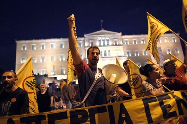 Crisis financiera en Grecia. Foto de Archivo, La República.