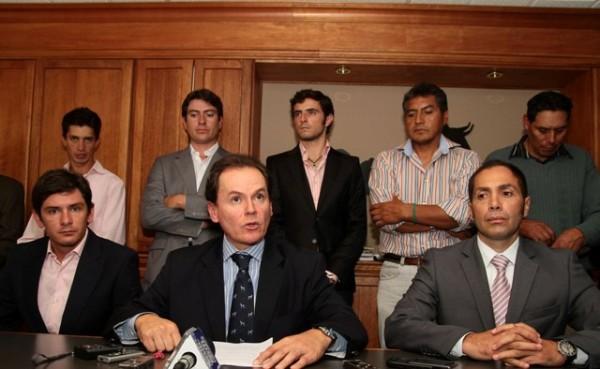 RUEDA DE PRENSA DE LOS REPRESENTARES TAURINOS Y GANADEROS