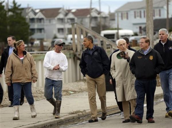 Barack Obama, Frank Lautenberg, Bob Menendez