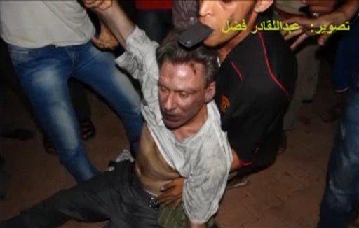Ataque contra el consulado norteamericano en Bengasi. Foto de Archivo, La República.