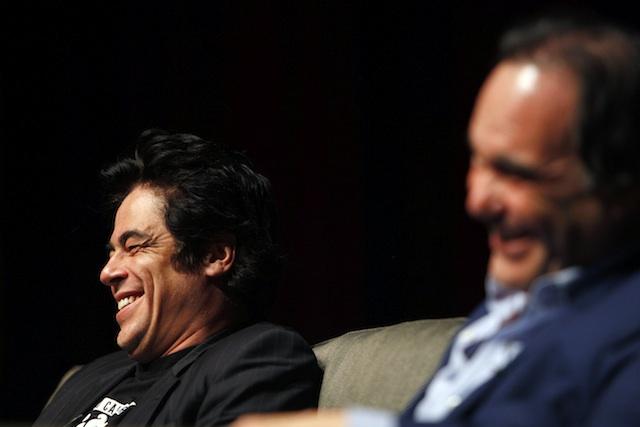 Oliver Stone, Benicio Del Toro