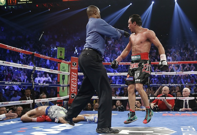 Manny Pacquiao, Juan Manuel Marquez, Kenny Bayless