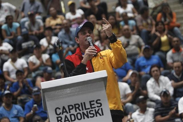 Capriles Gobernacion