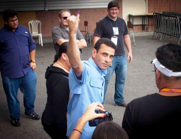 Capriles voto dic